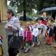 Dzieci z Przedszkola Parafialnego podczas uroczystości jubileuszowych