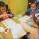 Spotkanie w bibliotece: Wesołe, wiosenne zadania